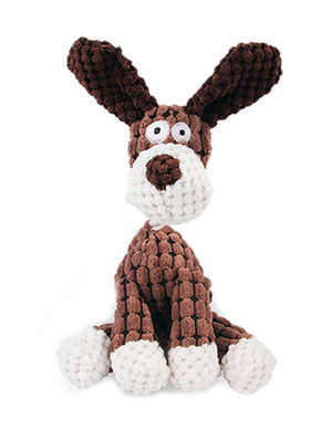 Dog Plush Squeaky Brown -  Dogs product