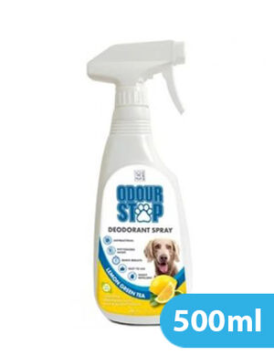 M-Pets Odour Stop Deodorant Spray Lemon Green Tea 500ml
