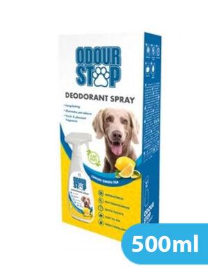 M-Pets Odour Stop Deodorant Spray Lemon Green Tea 500ml -  Dogs product