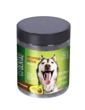 M-Pets Avocado Stuffed Stick Dental Snack Small