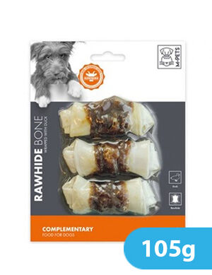M-Pets Bone Wrapped With Duck 105g