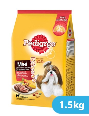 Pedigree Small Breed Beef Lamb and Vegetables Flavor 1.5kg