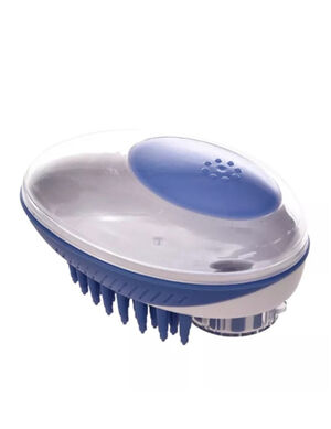 Pet Bath Brush Blue