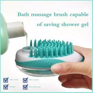 Pet Bath Brush Green -  Dogs product