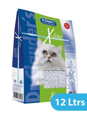 Dr Clauders Cat Litter Xtreme white 12 Ltrs