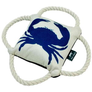 Tall Tails Oxford 4-WAY Tug Blue Crab 23cm -  Dogs product