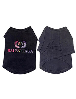 Balenciaga T-Shirt Black Large