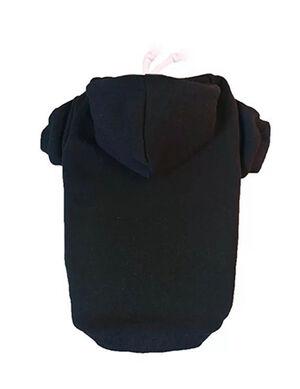 Plain Hoodie Black X-Large