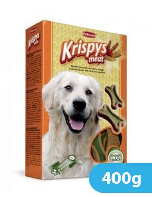 Padovan Krispys Meat Dog Treats 400gm
