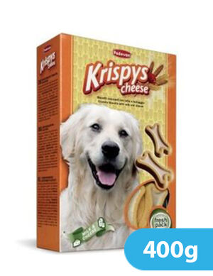 Padovan Krispys Cheese Dog Treats 400gm
