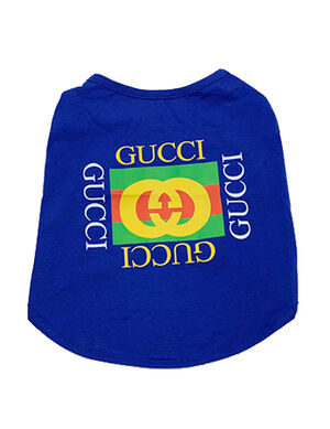 Gucci T-Shirt Blue X-Large