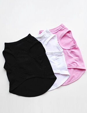 Pet T-Shirt Black Small -  Dogs product