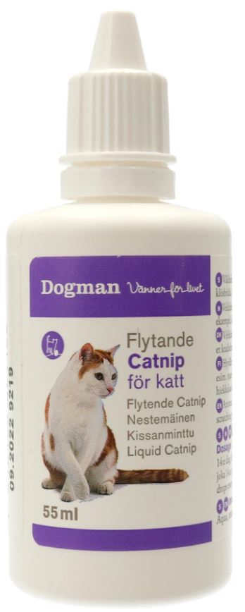 Dogman Cat Nip Liquid 55ml