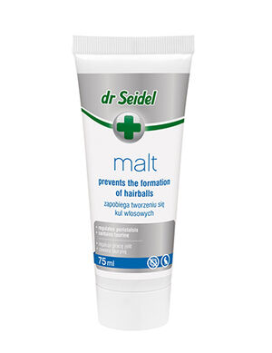 Dr Seidel Malt Paste with Taurine Prevent Cats Hairball 75ml