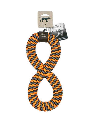 Tall Tails Braided Infinity Toy Large Orange