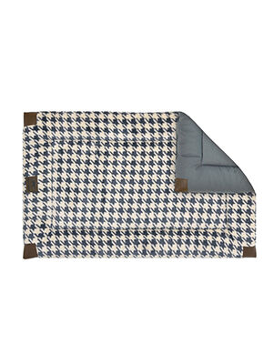 Tall Tails Houndstooth Bed Large Grey