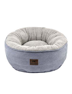 Tall Tails Dream Chaser Small Donut Bed Grey