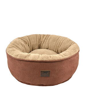Tall Tails Dream Chaser Small Donut Bed Brown