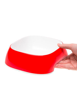 Ferplast Glam Bowl Red Medium