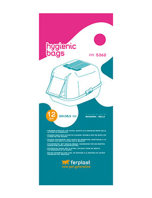 Ferplast Hygienic Litter Box Bags Large