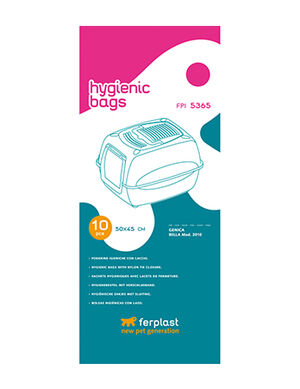 Ferplast Hygienic Litter Box Bags X-Large