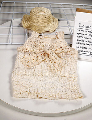 Pet Stylist Beige Dress Small