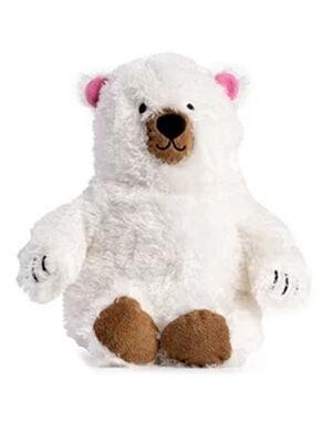 White Big Fluffy Polar Bear Toy