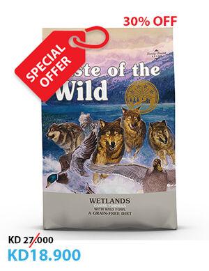 Taste Of The Wild Grain Free Canine Wetlands 12.2kg