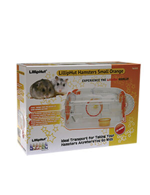 LillipHut Hamsters Small Orange TM.2023 -  Small Pet product