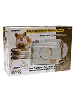 LillipHut Hamsters Medium Brown TM.2033 -  Small Pet product