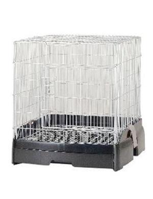 LillipHut Friends Cage 40 Black TM.2320