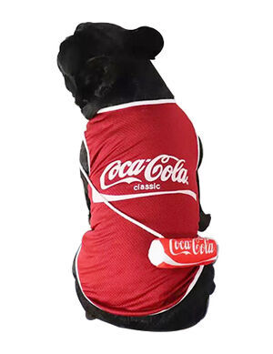 Red Cute Coca Cola T-Shirt Large
