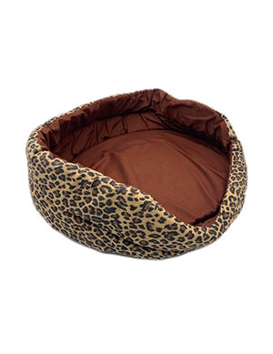 Buddy Pet Bed Leopard Small