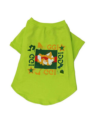 Gucci T-Shirt Green Large