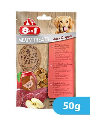 8in1 Freeze Dried Duck & Apple 50g