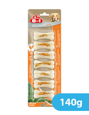 8in1 Delights XS Chicken 140g