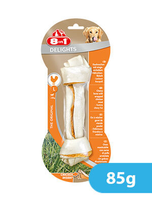 8in1 Delights Chicken Large 85g