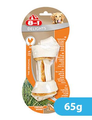 8in1 Deligths Chicken Medium 65g