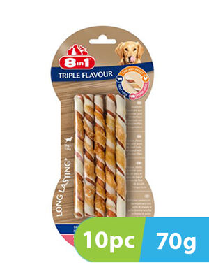 8in1 Triple Flavour  twists 10 Sticks  x 70g