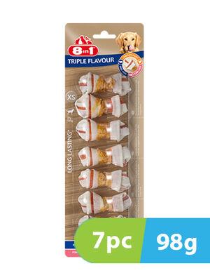 8in1 Triple Flavour XS 7 Bones x 98g