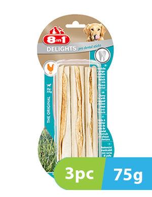 8in1 Delights Pro Dental 3 sticks x 75g