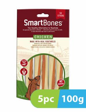 Smartbones Chicken Flavor 5 Stick x 100g