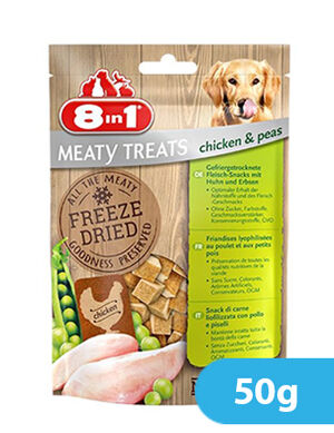 8in1 Freeze Dried Chicken & Peas 50g