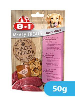 8in1 Freeze Dried Duck 50g -  Dogs product