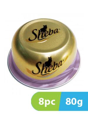 Sheba tuna and prawn 8pc x 80g
