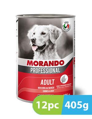 Morando Professional Adult Chunks with Beef 12pc x 405g