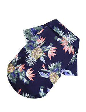 Dark Blue Beach Shirt Large
