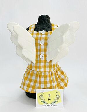 Yellow Wing Dress Small
