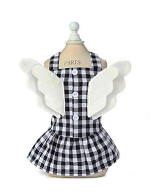 Black Wing Dress X-Large