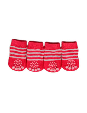 Pet Socks Strips Pink Small -  Dogs product